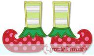 Elf Boots Applique 4x4 5x7 6x10