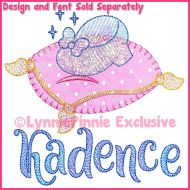 Applique Glass Slipper (bold blanket stitch) Optional Mylar Machine Embroidery Design File 4x4 5x7 6x10