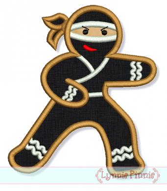 Ginger Bread Ninja 4x4 5x7 6x10