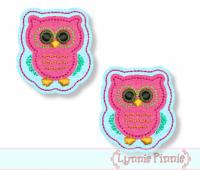 Owl Felt Clippies 4x4