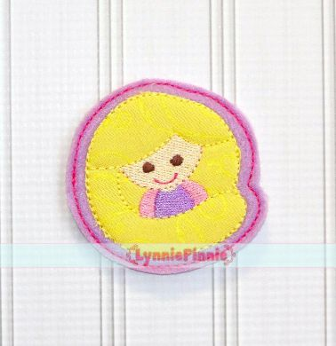 Princess 2 Felt Clippie Design 4x4