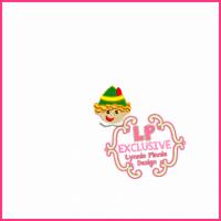 Smiling Elf Boy Mini Filled Design -- 3 sizes