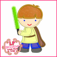 Glow Sword Costume Boy 4x4 5x7 6x10 SVG