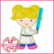 Glow Sword Costume Girl 4x4 5x7 6x10 SVG