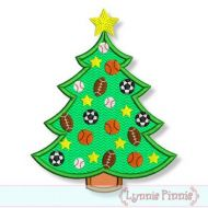 All Star Sports Christmas Tree 4x4 5x7 6x10 7x11