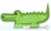 Applique Alligator 4x4 & 5x7 SVG