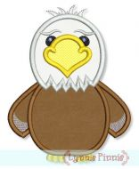 Bald Eagle Applique 4x4 5x7 6x10