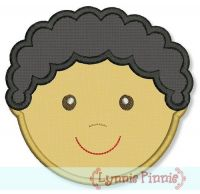 Little Faces - Boy 3 Applique 4x4 5x7 6x10
