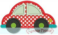 Car Applique 4x4 5x7 6x10