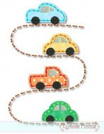 Cars on the Road STITCHY Applique 4x4 5x7 6x10 7x11 SVG
