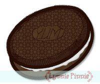 Chocolate Cookie Sandwich Applique 4x4 5x7