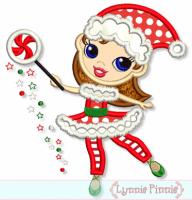 Christmas Fairy Applique 4x4 5x7 6x10 7x11