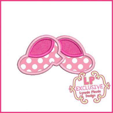 Chunky Heels Applique 4x4 5x7 6x10 7x11 SVG