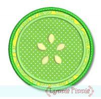 Citrus Slice Applique 4x4 5x7
