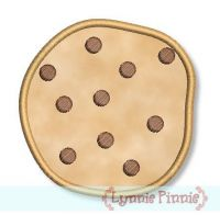 Applique Chocolate Chip Cookies 2 styles 4x4