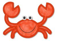 Applique Crab 2 4x4 5x7