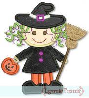Cutest L'il Witch Applique