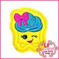 Cutie Kawaii Cupcake Felt Clippie