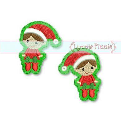 Christmas Elf Felt Clippies 4x4 Svg Welcome To Lynnie Pinniecom