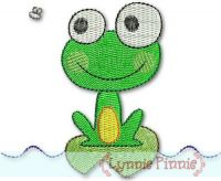 Silly Frog 2 - Filled 4x4 & 5x7