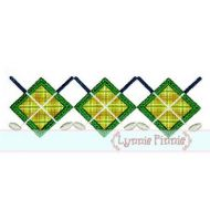 Golf Argyle Applique & Mini 4x4 5x7 6x10 7x11 SVG *KCK*