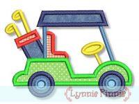 Golf Cart Applique 4x4 5x7 6x10