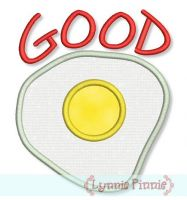 Good Egg Applique 4x4 5x7 6x10