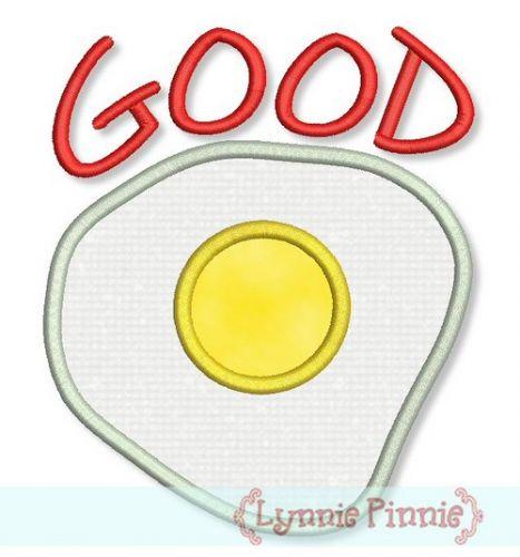Good Egg Applique 4x4 5x7 6x10
