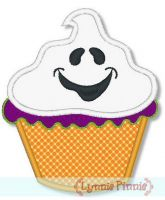 Halloween Cupcake Applique 2 4x4 5x7