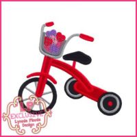 Hearts Tricycle Applique 4x4 5x7 6x10 7x11 SVG