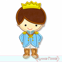 Little Prince Applique 4x4 5x7 6x10