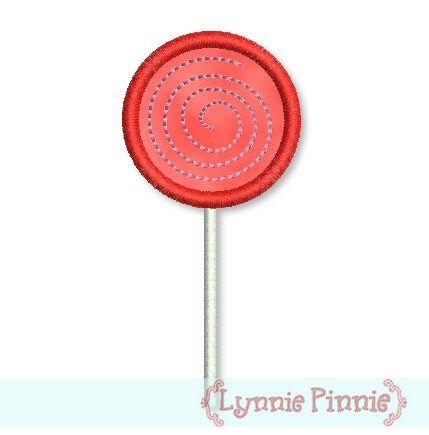 Lollipop Applique 4x4 5x7