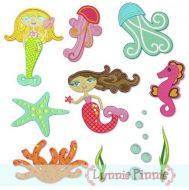 Mystical Mermaids Set 4x4 & 5x7