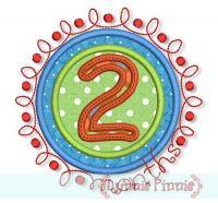 Doodle Numbers Monthly Milestones Set 4x4 5x7