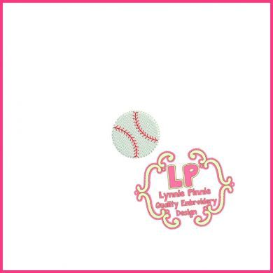 Mini Filled Baseball 4x4