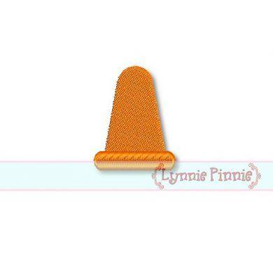 Mini Cone Embroidery Design 3 sizes 4x4