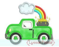 St. Patrick's Day Truck Applique