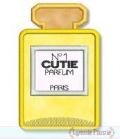 Bottle of Perfume Applique 4x4 5x7