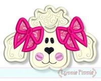 Poodle Applique 4x4 & 5x7
