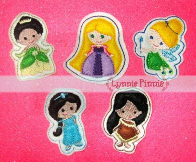 Princess Felt Clippies SET 2