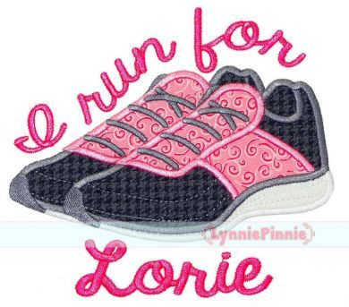 Running Shoes Applique