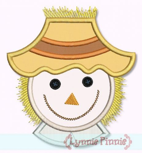 Scarecrow Boy Face (optional fringe) 4x4 5x7 6x10