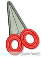 Applique Scissors 4x4 5x7
