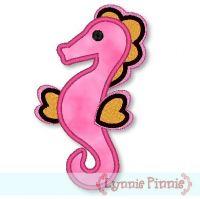Mystical Seahorse Applique 4x4 & 5x7