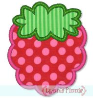 Simple Berry Applique 4x4 5x7