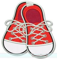 Sneakers Applique 4x4 5x7 6x10 7x11 SVG
