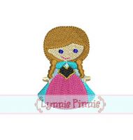 Mini Filled Snow Princess 4x4