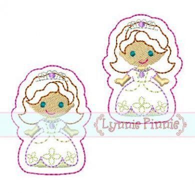 Princess Sophie Felt Clippies 4x4