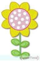 Pretty Sunflower - Filled 4x4 & 5x7