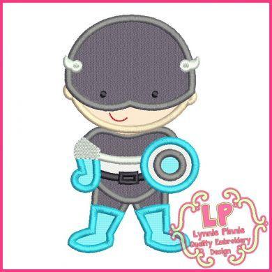 Superhero 5 - Shield Hero Boy 4x4 5x7 6x10